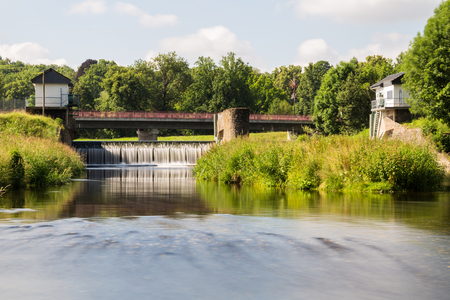 View of the river Weir III