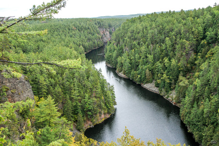 algonquin park: Barron Canyon, Algonquin Park, Ontario, Canada Stock Photo