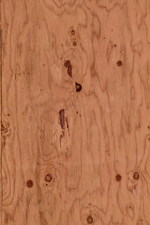 graining: Plywood surface with knots Stock Photo