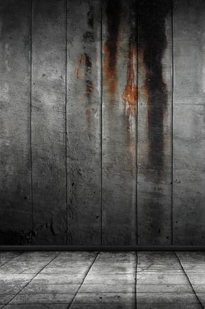 moody: Dark Grunge Room  Digital background for studio photographers