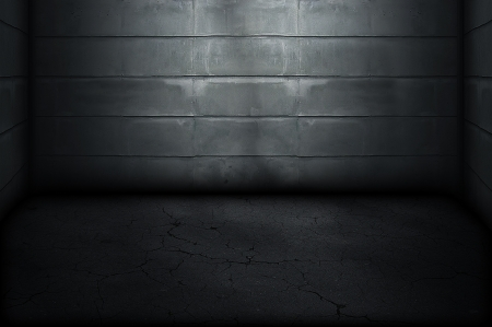Dark Grunge Room  Digital background for studio photographers  photo