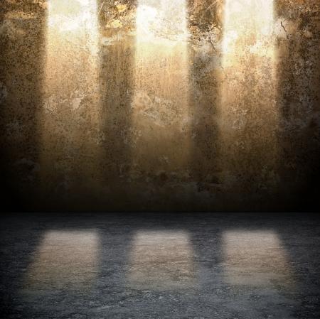 dungeon: Dark Grunge Room  Digital background for studio photographers
