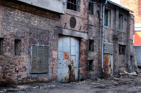 Old industrial building Stock Photo - 16693148