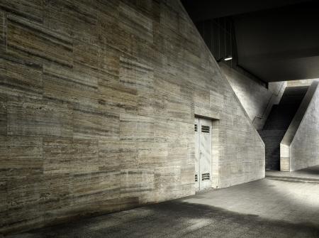 Fondo digital para la construcci�n M�rmol estudio del fot�grafo al aire libre Foto de archivo