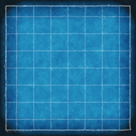 blueprint paper background with grid