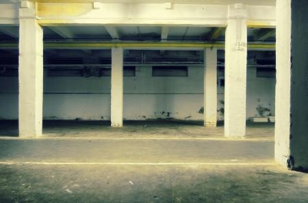Dark Grunge Room. Digital background for studio photographers. Stock Photo - 17962703