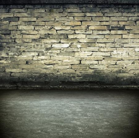 industry moody: Dark Grunge Room  Digital background for studio photographers