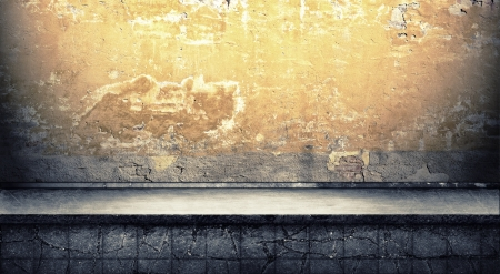 Oscuro Grunge Room fondo digital para fot�grafos de estudio