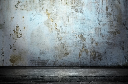 moody background: Street grunge wall  Digital background for studio photographers