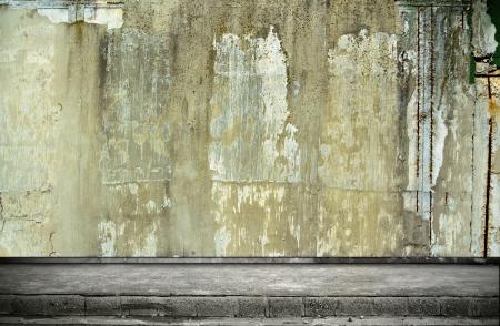 Calle grunge pared de fondo digital para fot?grafos de estudio Foto de archivo