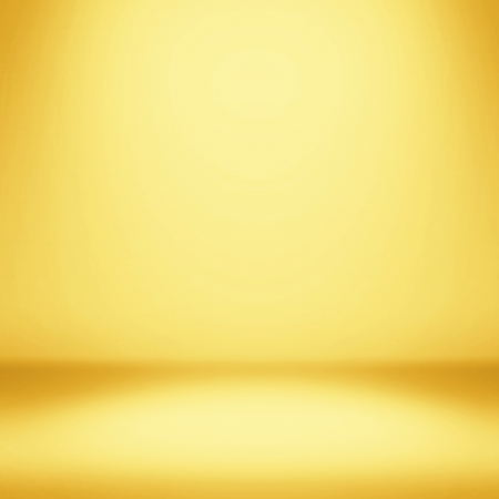 yellow background: Clear empty photographer studio background