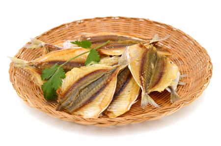 boneless: the boneless dry fishes on basket