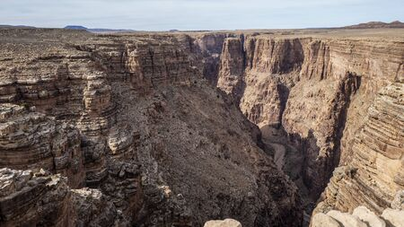 View of Grand Canyon National Park, located in northwestern Arizona, is the 15th site in the United States to have been named a national park.