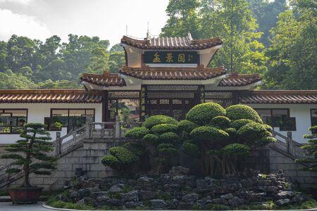 Shenzhen, China. Oct, 2019. The Bonsai Garden at Fairylake Botanical Garden, or Xianhu Botanical Garden located at Luohu District, Shenzhen, Guangdong, China. 新聞圖片