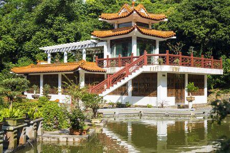 Shenzhen, China. Oct, 2019. View of the Bonsai Garden at Fairylake Botanical Garden, or Xianhu Botanical Garden located at Luohu District, Shenzhen, Guangdong, China.