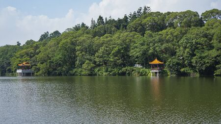 Shenzhen, China. Oct, 2019. View of the Fairylake Botanical Garden, or Xianhu Botanical Garden located at Luohu District, Shenzhen, Guangdong, China.
