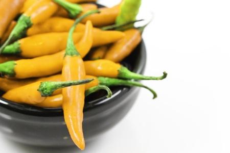 chiles picantes: Aj� amarillo