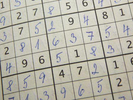 sudoku: Completed sudoku puzzle.