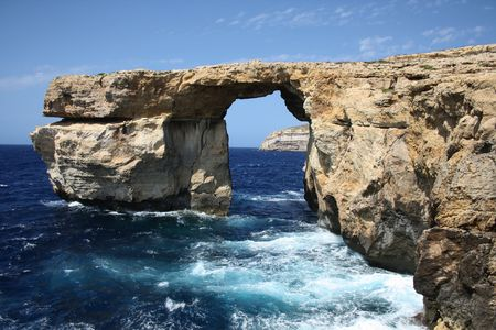 gozo: Tourist attraction on island Gozo. Stock Photo