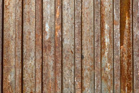 textura: Sfondo di metallo arrugginito Archivio Fotografico