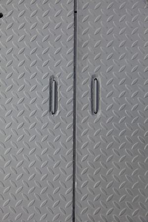 grunge industry metal door background Stock Photo - 8421212