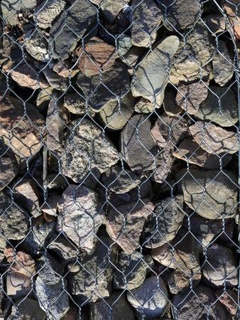 metall: background stone metallic net