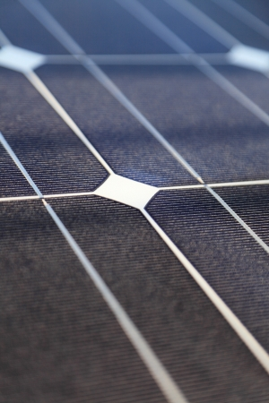 Photovoltaic panels panel solar energy concept