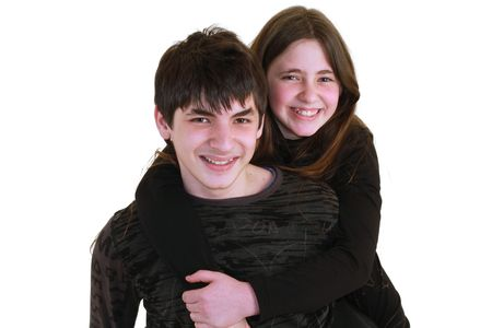 brother and sister photo