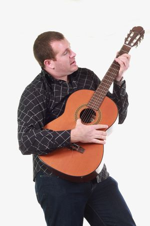 man with guitar Stock Photo - 6938624