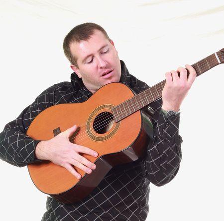 man with guitar Stock Photo - 6938608