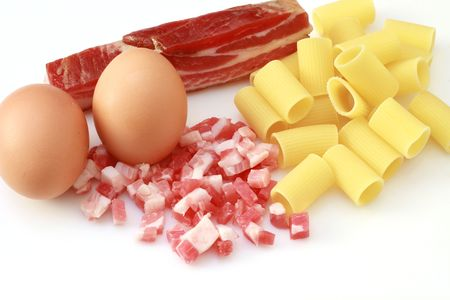 carbonara ingredients photo