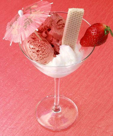 tasse de glace