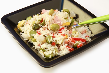 rice salad photo
