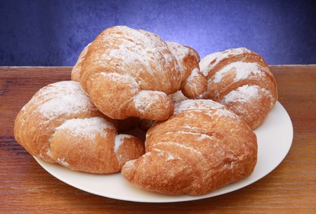 continental food: croissant
