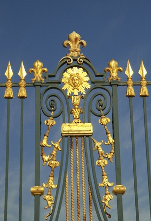 versailles golden gate Stock Photo - 7049159