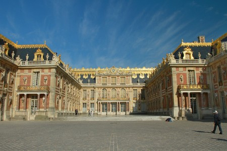 king palace: versailles Stock Photo