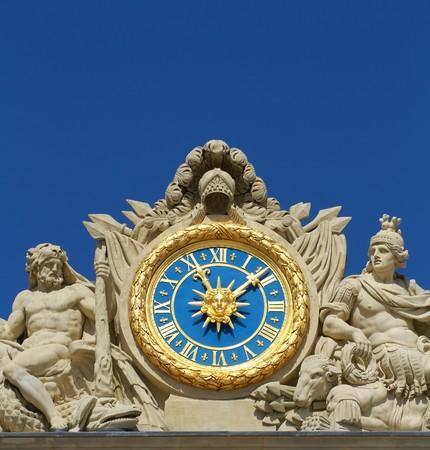 versailles clock Stock Photo - 7049210