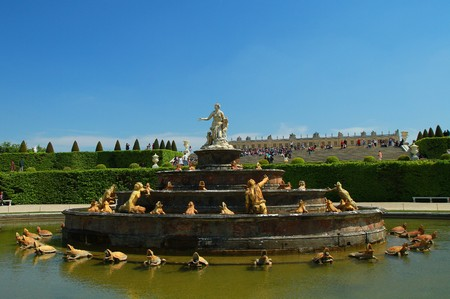 a fountain in versailles Stock Photo - 7039522