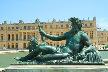 a statue in versailles Stock Photo - 7039468