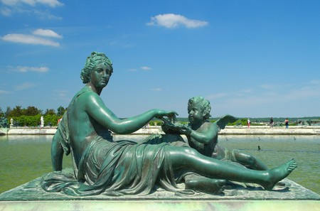 a statue in versailles Stock Photo - 7039478
