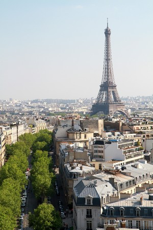 panoramic view of Tour Eiffel