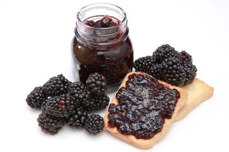 blackberry jam photo