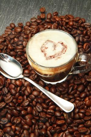 tasse � caf�  Banque d'images