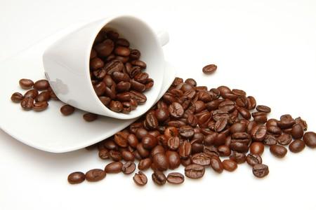 coffee grounds: coffee beans