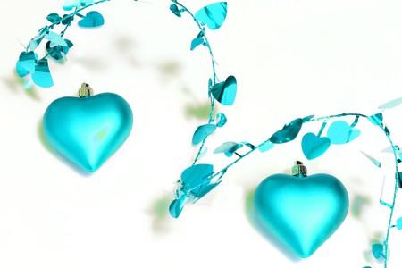 corazones azules: corazones azul