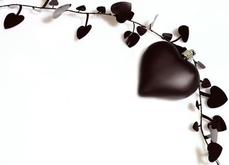 black heart photo