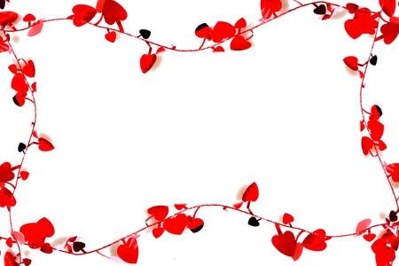 Heart valentines background  photo
