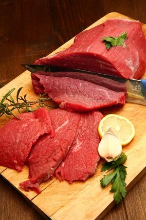 rump steak: beaf