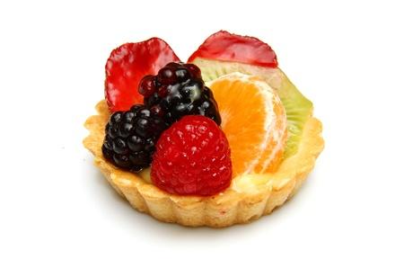 A delicious fruit tart  photo