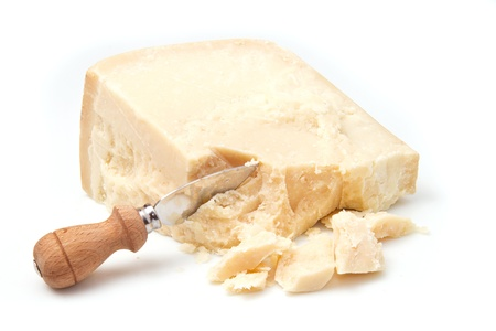 cheese knife: parmesan cheese
